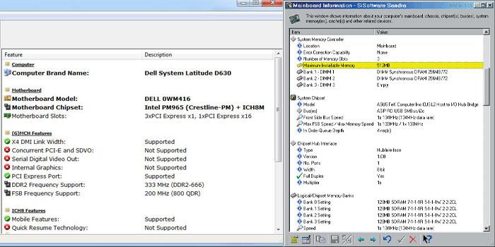 Hwinfo32 и Sisoftware Sandra